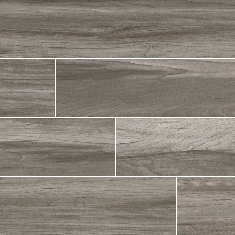 CAROLINA TIMBER GRAY WOOD LOOK CERAMIC TILE