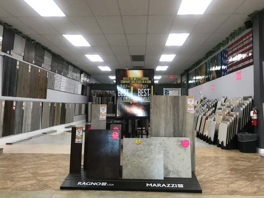 Vegas Flooring Outlet Voted 1